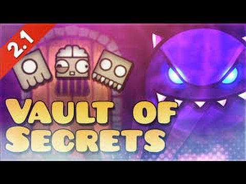 Vault Of Secrets / All Codes / Geometry Dash 2.1