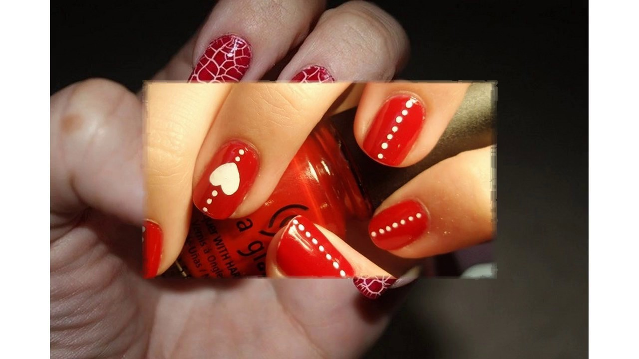 Ultimo En Uñas Decoradas Con Gelish Rojo