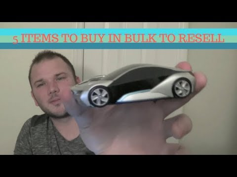 5 Items to buy in Bulk & Resell on Ebay + Amazon.