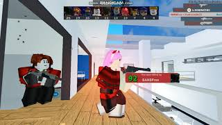 Playing Arsenal In ROBLOX (read des)