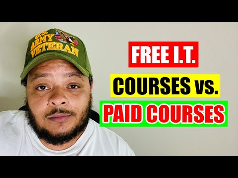 Free I.T. Courses vs. Paid Courses