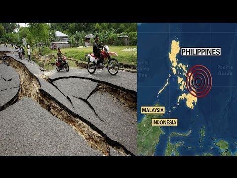 Earthquake strikes central Philippines, killing at least 20