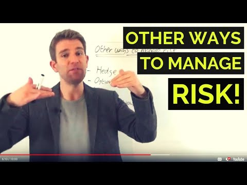 TRADING WITHOUT STOPS; OTHER WAYS TO MANAGE RISK ✋