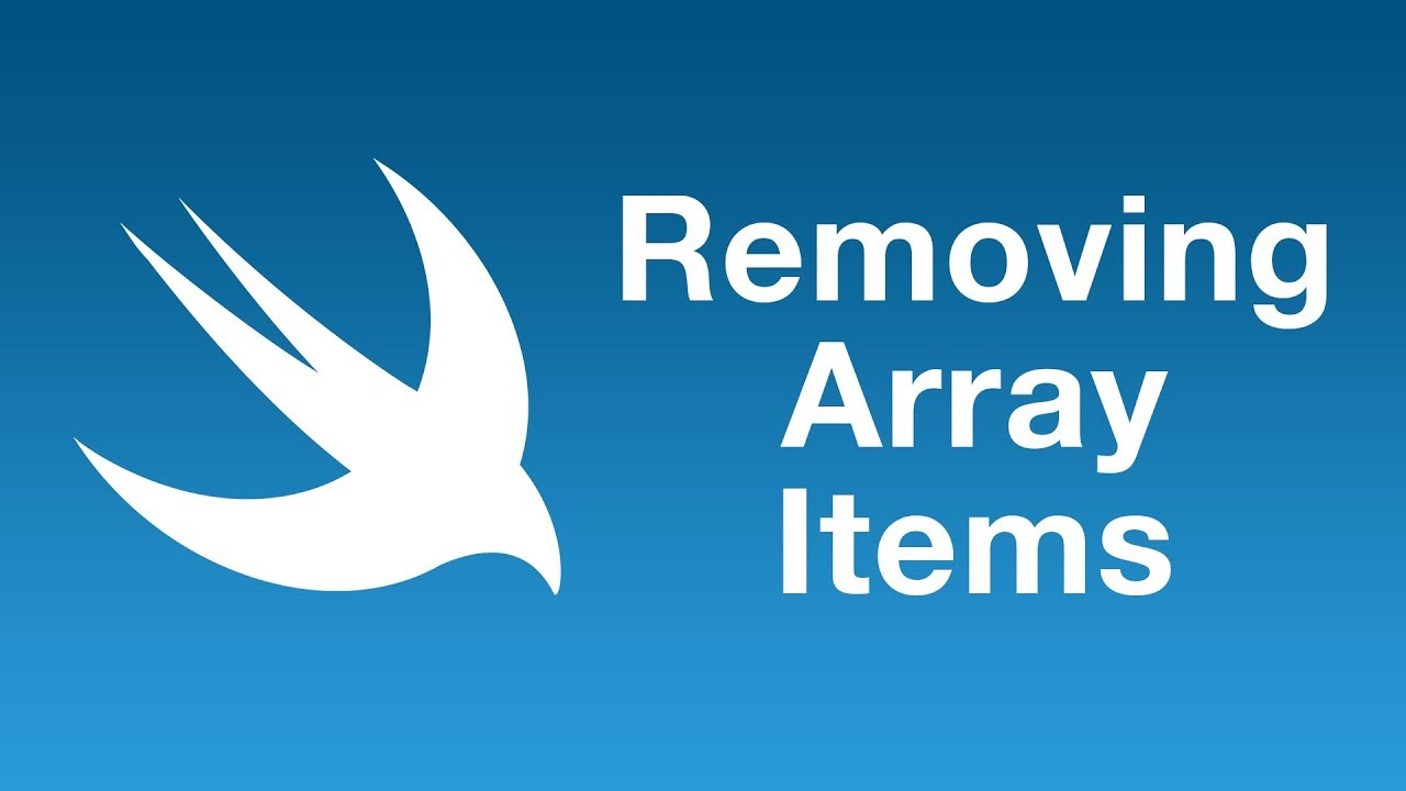 Removing items from an array with removeAll(where:)