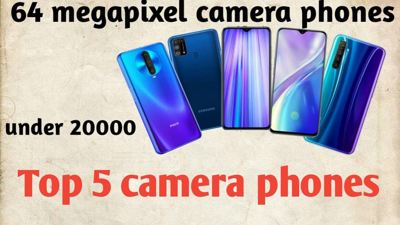 Best camera phones under 20000 || Best 64MP camera phones 2020 in india