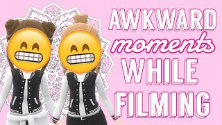 AWKWARD Moments While Filming PART 2 (Bloopers)