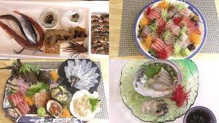 【豪華】お刺身盛り合わせ 総額10万円? 一からお刺身作ってみた How to Slice Sashimi 【4K】