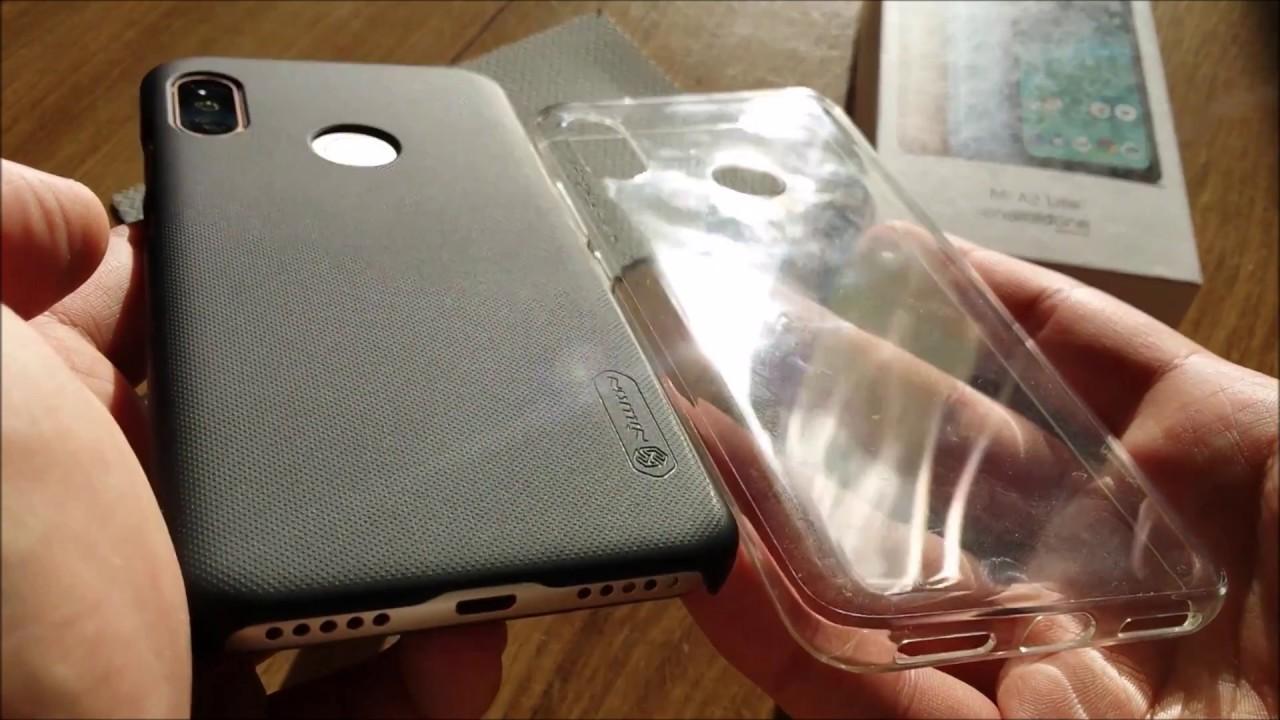 new concept 67bf1 42638 Nillkin Frosted Shield Case Xiaomi Mi A2 Lite Case Cover (Xiaomi Redmi 6  PRO Case) [4K UltraHD]