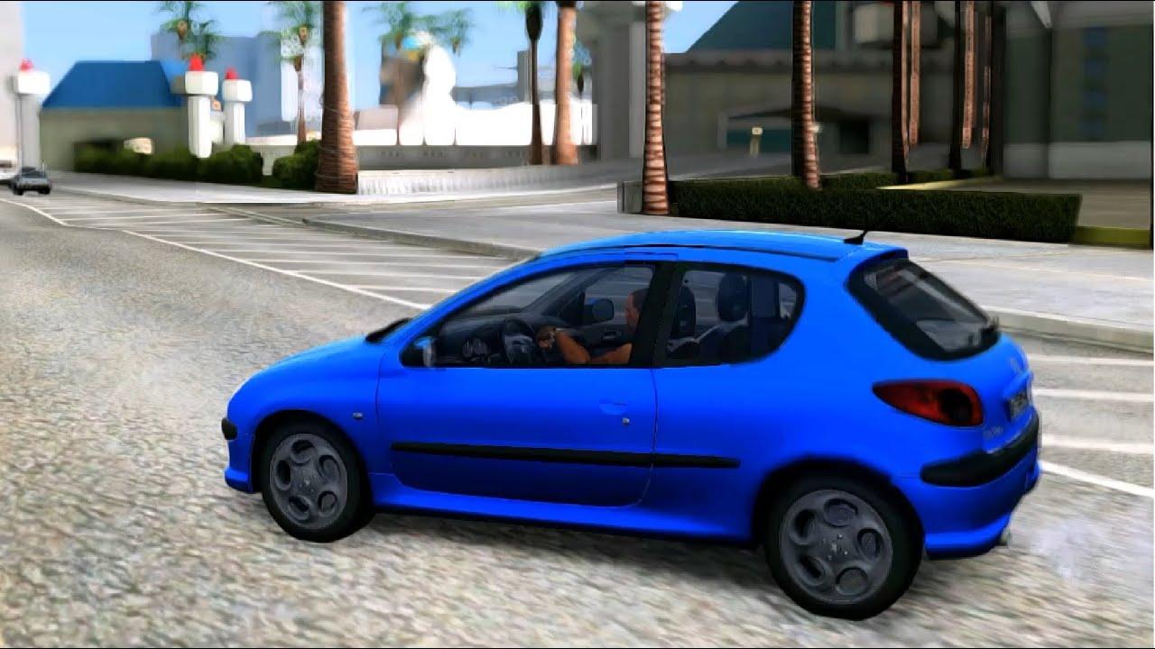 GTA San Andreas - 2003 Peugeot 206 HDi EnRoMovies