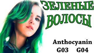 Как покрасить волосы в зеленый | Anthocyanin G03 G04(Я в контакте https://vk.com/karinareich Periscope https://www.periscope.tv/karinareihc Instagram http://instagram.com/karina.xs/, 2016-04-17T07:42:31.000Z)