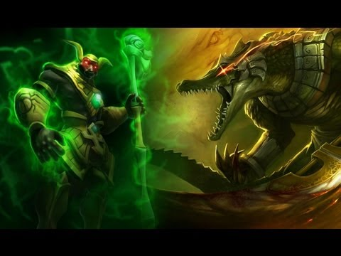 Prince Of Persia Hd Wallpaper Nasus Renekton Brothers To Death League Of Legends 音