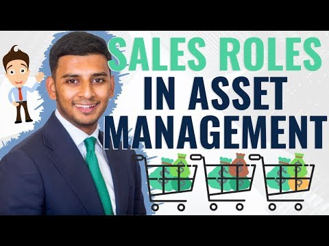 Careers in Asset Management: Sales