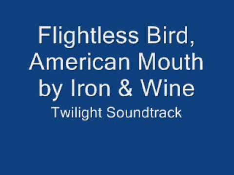 Flightless Bird, American Mouth by Iron and Wine Twilight Soundtrack