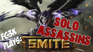 "SMITE - Thanatos conquest Gameplay ""Solo Assassins 4"""