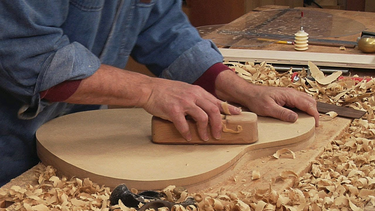Classical Guitar Making How to Make a Back Work Board