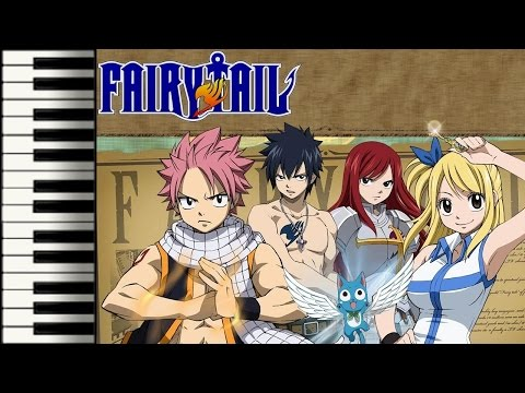 Fairy Tail Theme - 【Saxo Play Along】
