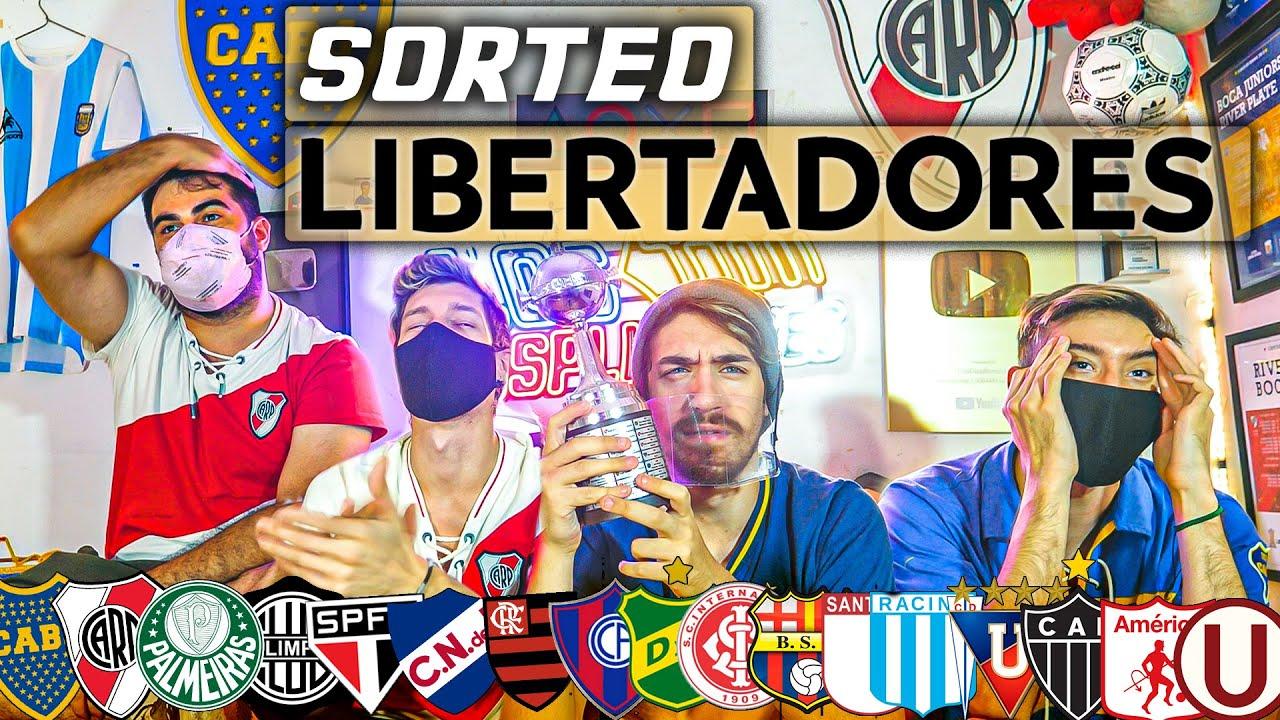 REACCIONES a SORTEO de la Copa LIBERTADORES 2021