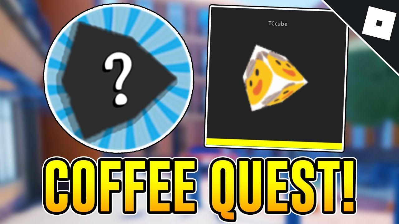 How to get the TCUBE KILL EFFECT COFFEE QUEST BADGE in ARSENAL