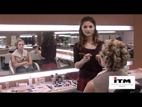 Faire un maquillage d'ange - Interview maquillage mode 2011 Magali Lambert ITM Paris