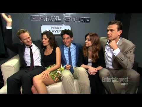 How Met Your Mother Stars Tear Up Over Final Season Inside Tv Ew Com