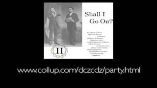 Shall I Go On? - Party CDs of Vocal Oddities (V. 2 excerpts)