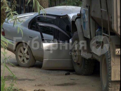Водитель легковой машины пострадал в аварии на окраине Хабаровска.MestoproTV