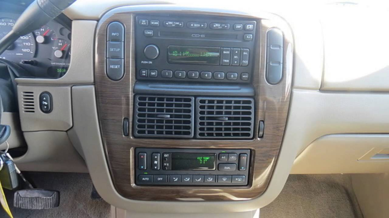 2004 ford explorer limited edition