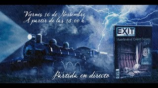Exit-el juego-el muerto en el Orient Express