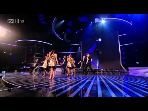 The Cast Of Glee  Dont Stop Believing  X Factor Semi Final FULL HD