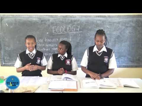 SCIENCE HUB Lockwood Girls High School Biology Form 3 BIOLOGY LESSON 2 Ecology KCSE