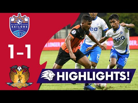 Lion City Hougang United Goals And Highlights