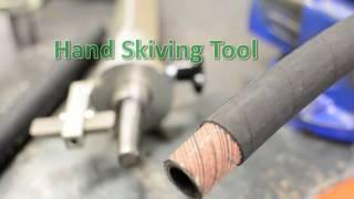 Hydraulic Hose Skiving Tool