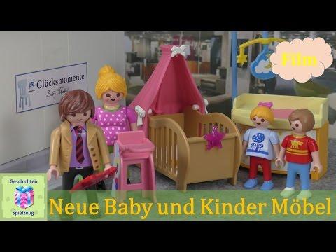 Playmobil Film Deutsch NEUE BABY SACHEN & KINDER MÖBEL ♡ Playmobil Geschichten  Familie Miller