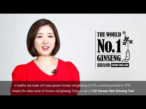 CKJ Korean Red Ginseng Tea