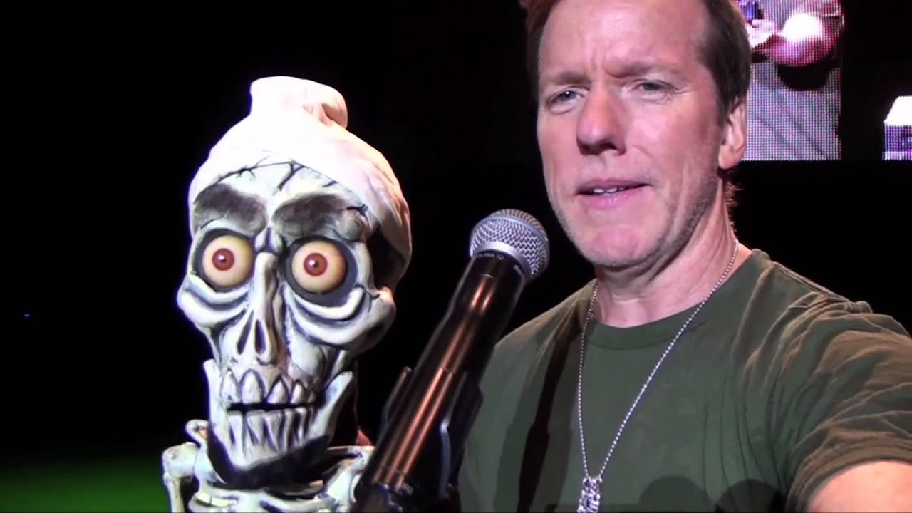 2 happy halloween from jeff dunham and achmed the dead for Achmed the dead terrorist halloween decoration