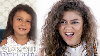 Zendaya Gives Life Advice to Young Girls | Glamour