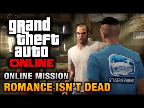 GTA Online - Mission - Romance Isn't Dead [Hard Difficulty]