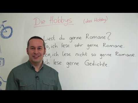 Almanca Temel A1a2 Seviyesi Ders 39 Almanca Hobiler Die Hobbys