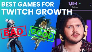 Best Games to Stream for MAXIMUM Growth on Twitch in 2020!