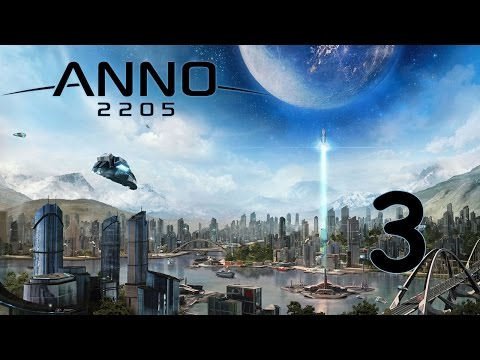 Прохождение Anno 2205 #3 - Арктика