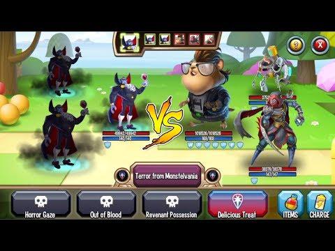 Monster Legends - Count Vlad level 1-130 combat PVP review - Good Dark monster