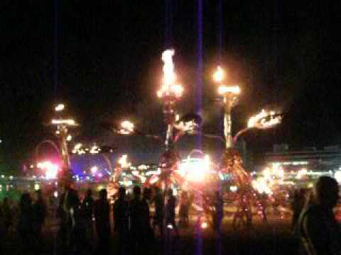 Electric Daisy  Carnival Las Vegas Day 3 Mutopia Fire Display