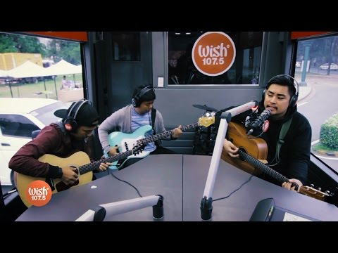 """December Avenue performs """"Dahan"""" LIVE on Wish 107.5 Bus"""