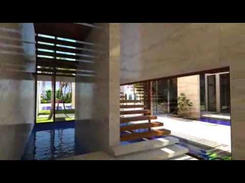 Casa de lujo en miami youtube for Casa modernas x dentro