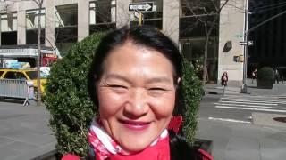 Tourist New York - Streets Manhattan