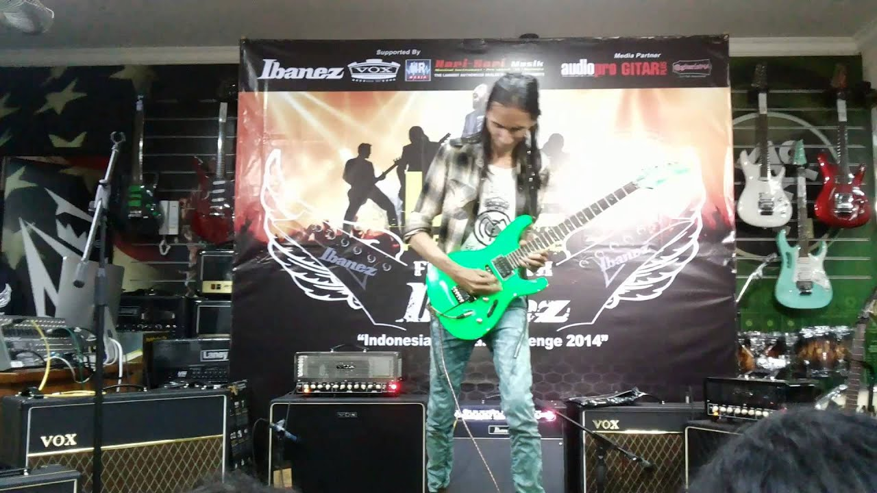 gavin iedema mood on most viewer flying with ibanez 2014 youtube