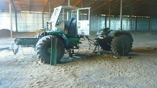 11-12 день.Раскат полурамы трактора Т-150К.Ремонт соединения полурам Т-150К.
