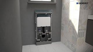 Geberit Monolith WC - Installation