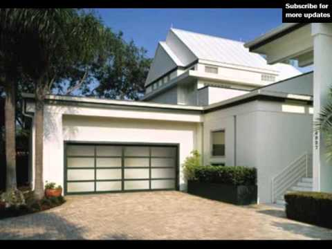 Modern Glass Garage Doors Glass Garage Door Youtube