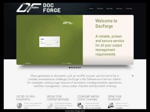 the virtual solution GmbH | DocForge - cloud-based document generation - How to create a job